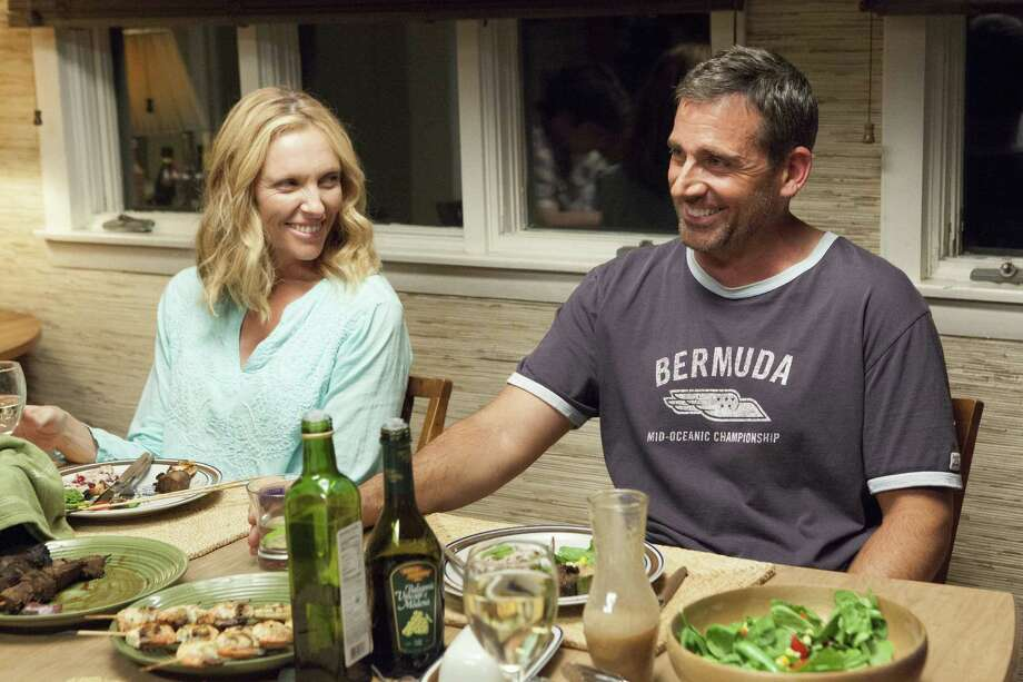 "Toni Collette plays a divorced mother of a teen boy; Steve Carell is her boyfriend, who seems to relish belittling her son, in ""The Way, Way Back."" Photo: 20th Century Fox"