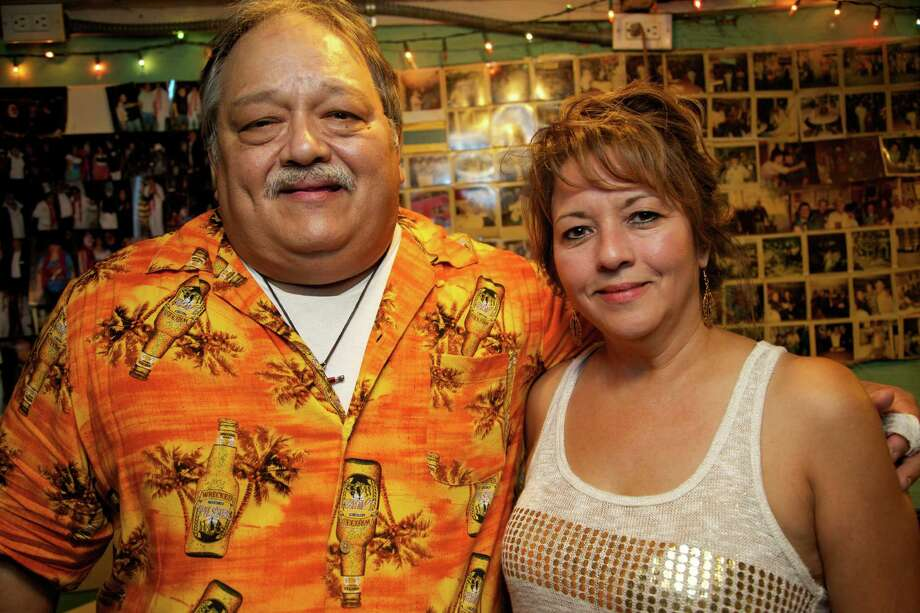 Rick Arzola and Annie Arzola. Photos by Xelina Flores-Chasnoff/ For the Express-News