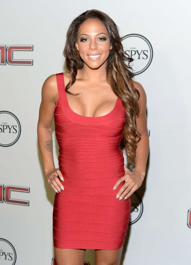 "Professional soccer player Sydney Leroux attends ESPN the Magazine 5th annual ""Body Issue"" party at Lure on July 16, 2013 in Hollywood, California.  (Photo by Michael Kovac/WireImage)"