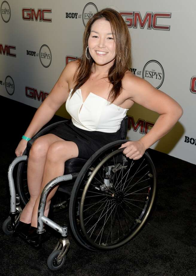 "Paralympian athlete Shirley Reilly attends ESPN the Magazine 5th annual ""Body Issue"" party at Lure on July 16, 2013 in Hollywood, California.  (Photo by Michael Kovac/WireImage)"