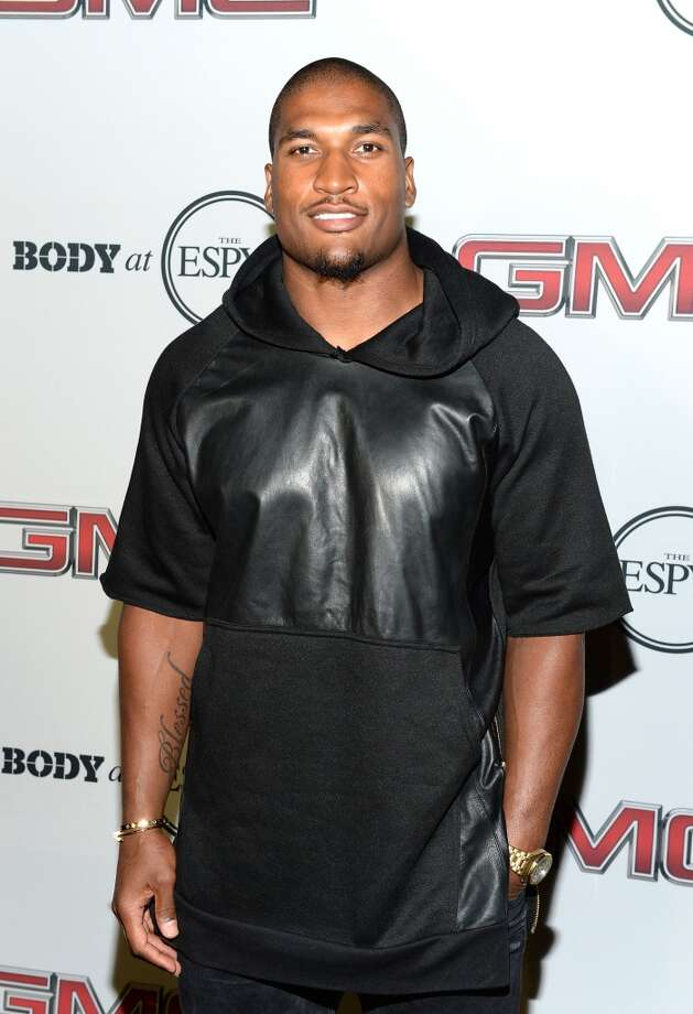 "Professional football player Larry English attends ESPN the Magazine 5th annual ""Body Issue"" party at Lure on July 16, 2013 in Hollywood, California.  (Photo by Michael Kovac/WireImage)"