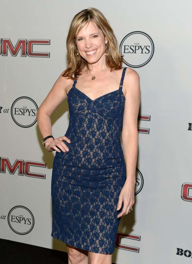 "TV sports journalist Hannah Storm attends ESPN the Magazine 5th annual ""Body Issue"" party at Lure on July 16, 2013 in Hollywood, California.  (Photo by Michael Kovac/WireImage)"