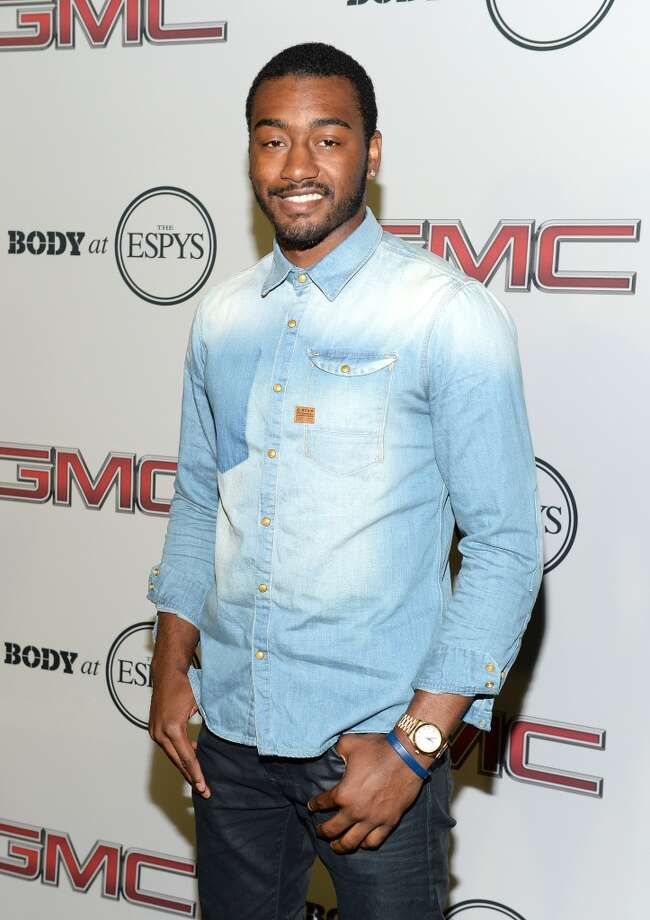 "Professional basketball player John Wall attends ESPN The Magazine 5th annual ""Body Issue"" party at Lure on July 16, 2013 in Hollywood, California.  (Photo by Michael Kovac/WireImage)"