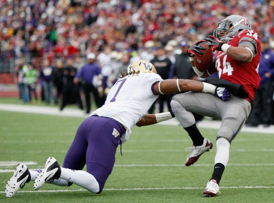 Whoever is favored to win the Apple Cup will most likely lose it. It doesn't matter if the Cougs are horrible and the Huskies are amazing -- or vice versa -- the Apple Cup is always up in the air.