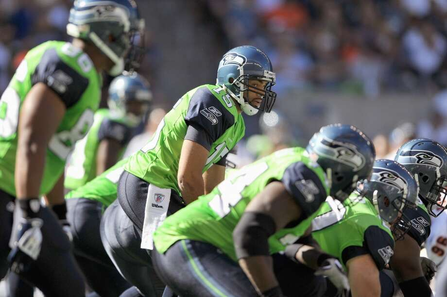 Those neon green Seahawks jerseys? Yeah, don't expect some sort of revival anytime soon -- or ever. After the Seahawks wore these jerseys once -- on Sept. 27, 2009 -- and lost at home to the Bears, then-coach Jim Mora said the green uniforms would not return.