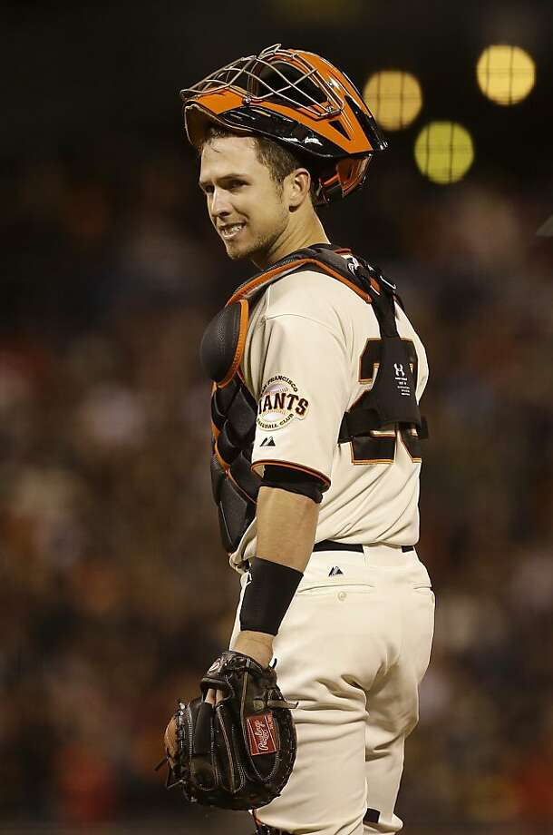 Though catcher Buster Posey is hitting .325 with 13 homers, he is learning about life on a losing team. Photo: Jeff Chiu, Associated Press