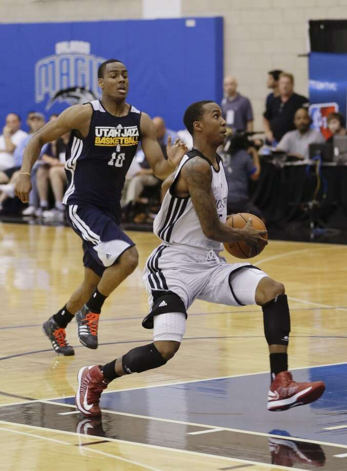 B.J. Young  Former team: Undrafted rookie free agent  New team: Houston Rockets Photo: John Raoux, Associated Press