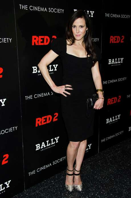 """Mary-Louise Parker attends a screening of Summit Entertainment's """"Red 2"""" hosted by the Cinema Society & Bally on Tuesday, July 16, 2013 in New York. (Photo by Charles Sykes/Invision/AP) Photo: Charles Sykes, INVL / Invision"""