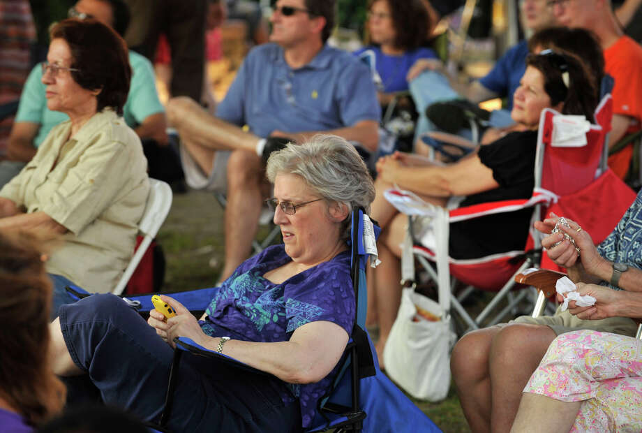 Scenes from Jazz Up July at Columbus Park in Stamford on Wednesday, July 17, 2013. Hearst Connecticut Newspapers is a sponsor of the event. Photo: Jason Rearick / Stamford Advocate