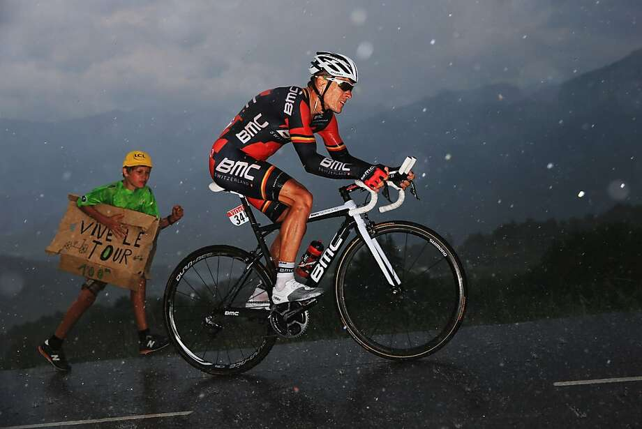 CHORGES, FRANCE - JULY 17:  Philipe Gilbert of Belgium and BMC Racing Team rides during stage seventeen of the 2013 Tour de France, a 32KM Individual Time Trial from Embrun to Chorges, on July 17, 2013 in Chorges, France.  (Photo by Doug Pensinger/Getty Images) Photo: Doug Pensinger, Getty Images