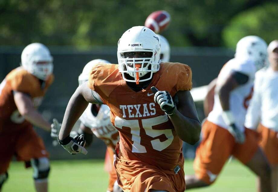 Texas OL Trey Hopkins Photo: Courtesy Photo / UT Athletics