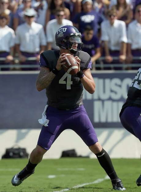 The return of TCU quarterback Casey Pachall gives the Horned Frogs a chance to challenge for the Big 12 title. Photo: Ronald Martinez, Getty Images / 2012 Getty Images