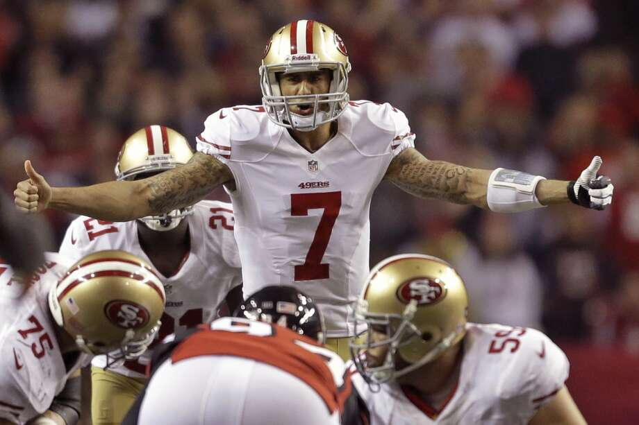 Breakthrough athlete of the year - Colin Kaepernick