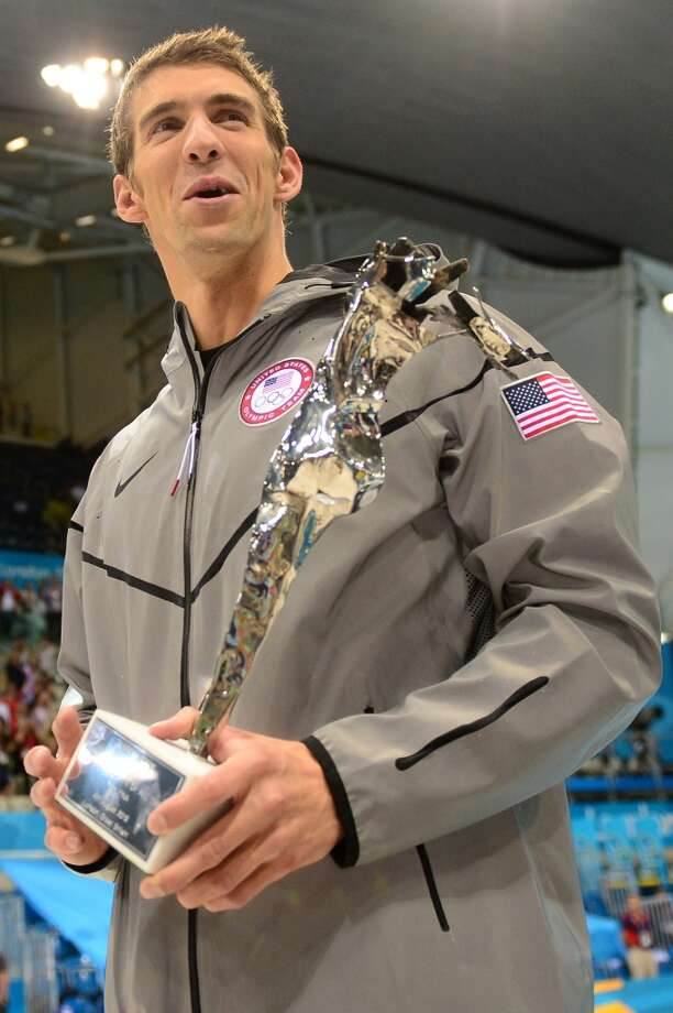 Best record-breaking performance - Michael Phelps