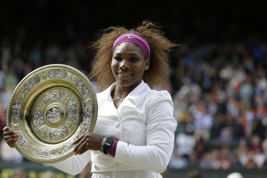 Best female athlete - Serena Williams Photo: Kirsty Wigglesworth, Associated Press