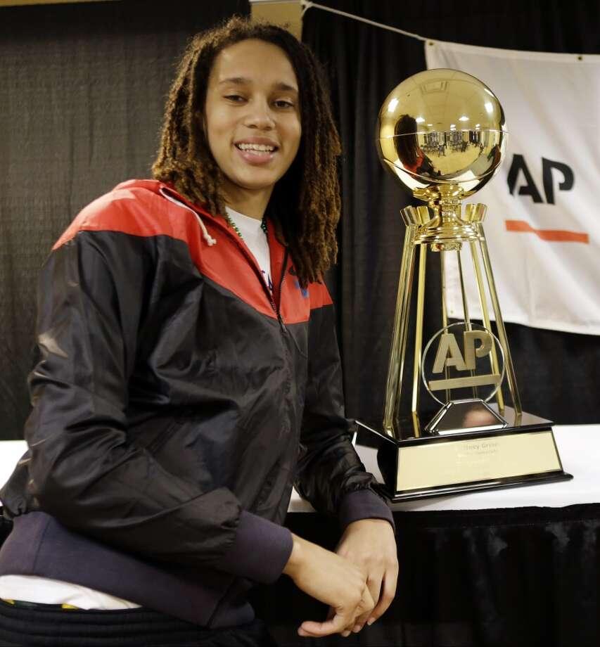 Best female college athlete - Brittney Griner