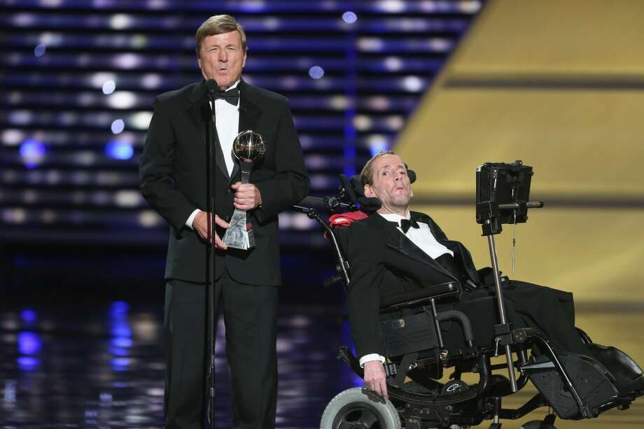 Jimmy V Award for Perseverance - Dick and Rick Hoyt