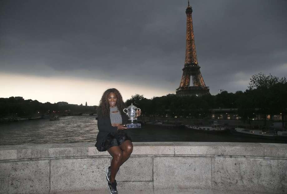 Best female tennis player - Serena Williams