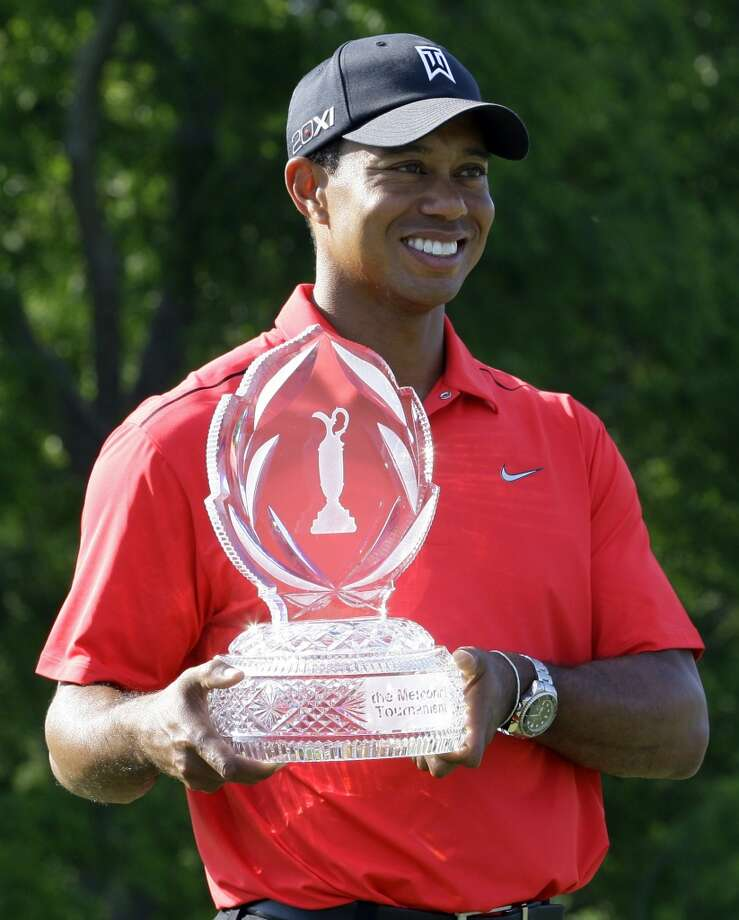 Best male golfer - Tiger Woods