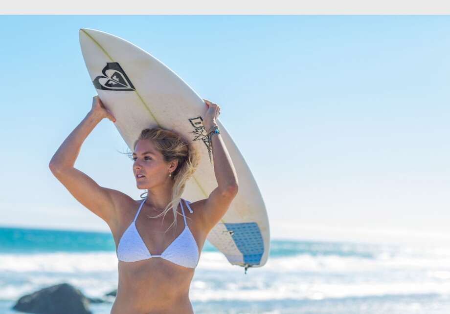 Best female action sport athlete - Stephanie Gilmore, surfing