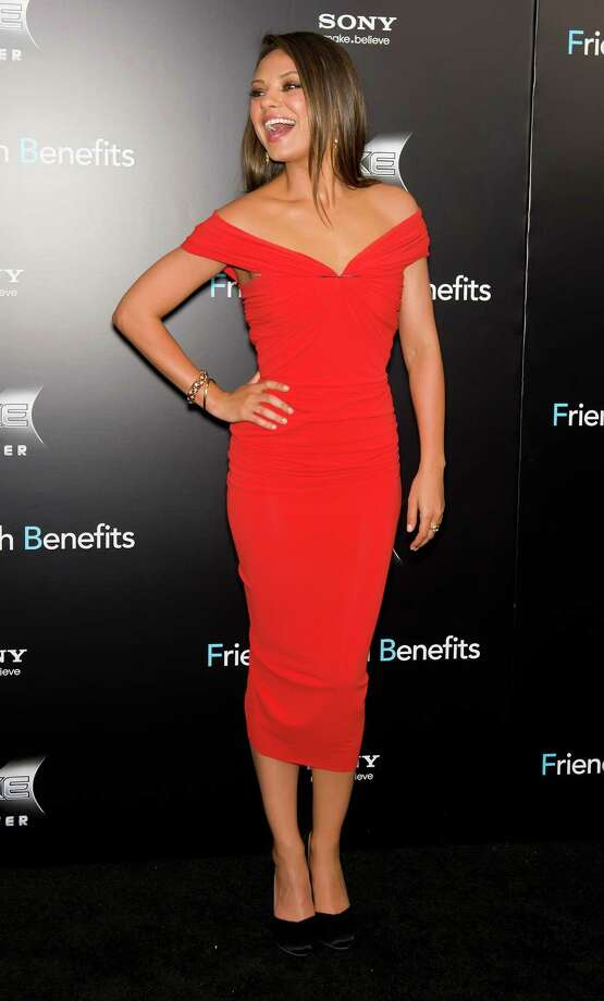 """At the """"Friends with Benefits"""" premiere at Ziegfeld Theater on July 18, 2011 in New York. Photo: Gilbert Carrasquillo, FilmMagic / 2011 Gilbert Carrasquillo"""