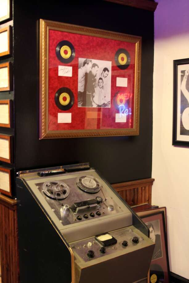 "The Sun Studio exhibit includes recording equipment, including some used for the famous ""Million Dollar Quartet"" gathering at the studio of Elvis, Carl Perkins, Johnny Cash and Jerry Lee Lewis."