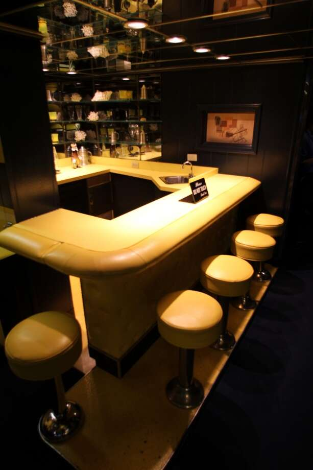 One of several bars at Graceland.