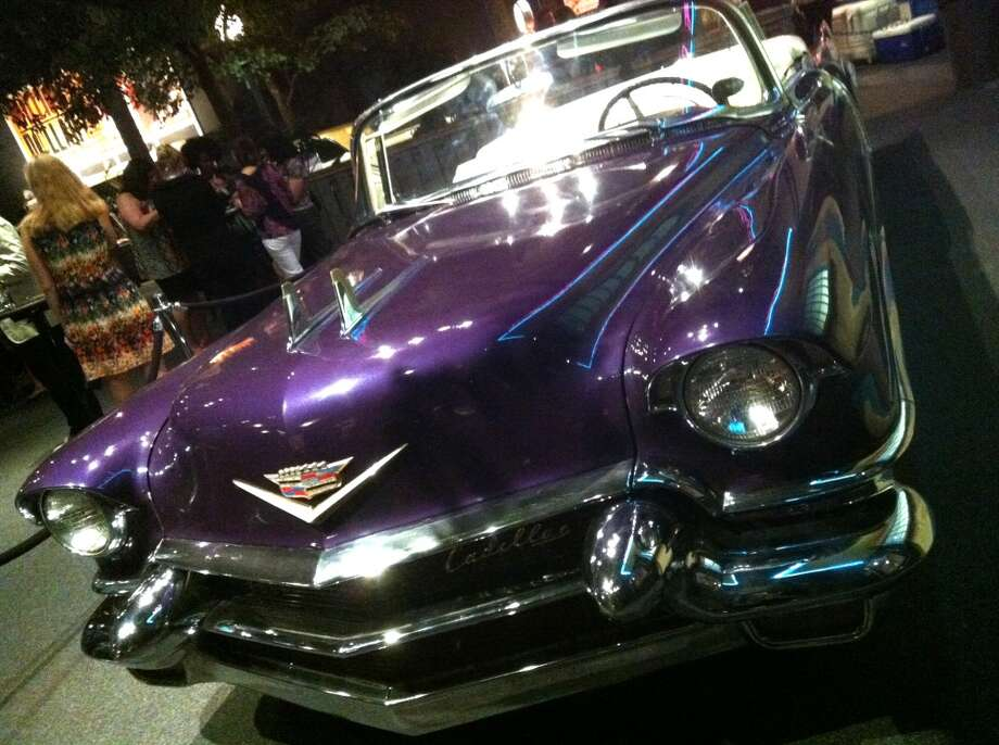 Elvis' custom Cadillac.