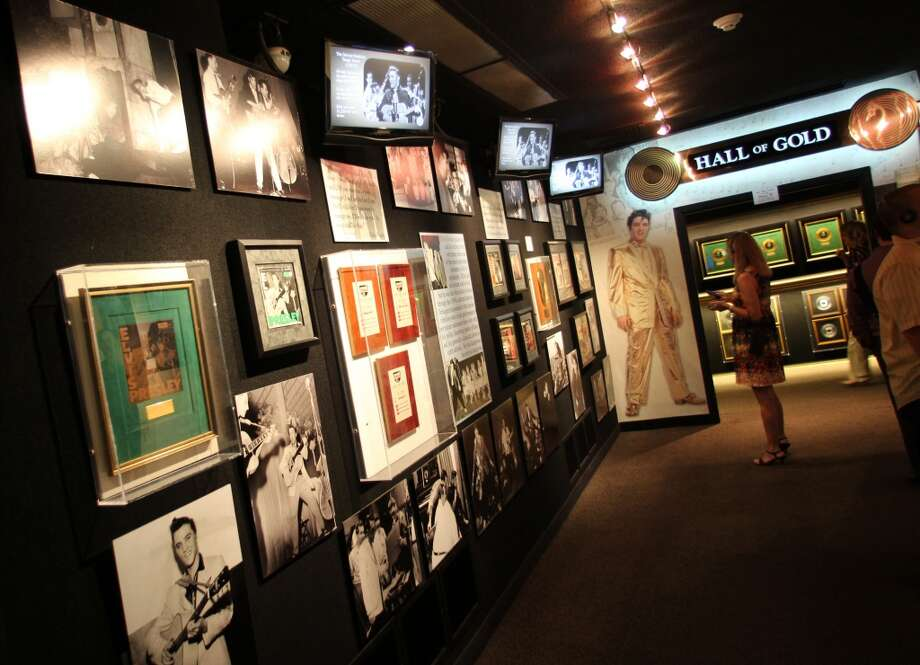 A large portion of the Graceland property is a museum to Elvis' career.