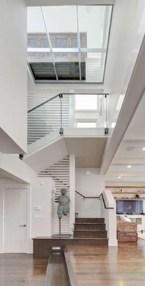 Stairwell. Photo via Eric Turner, McGuire