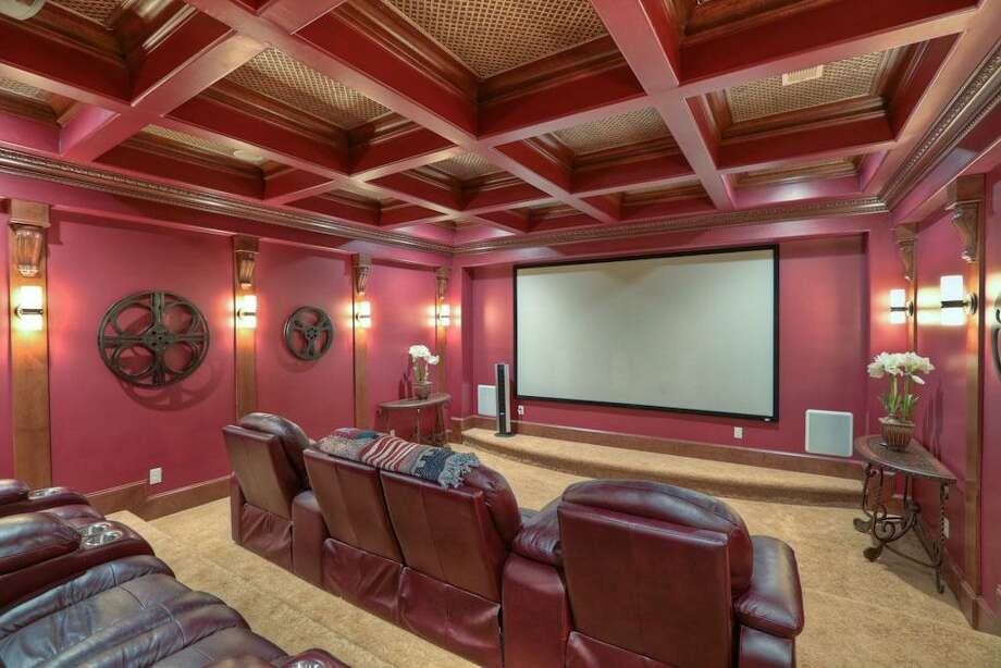 The home also has a movie theater and other fine amenities.