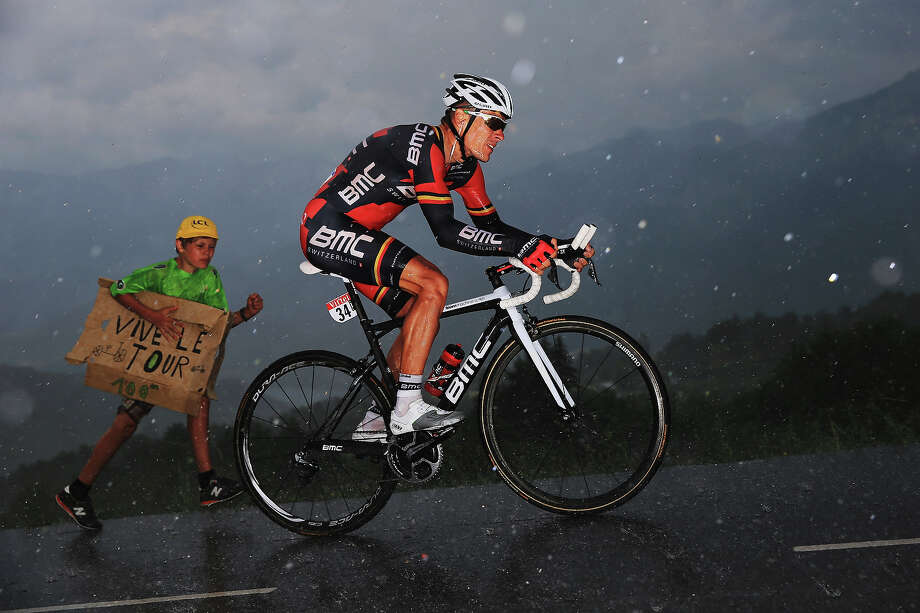 Philipe Gilbert of Belgium and BMC Racing Team rides during stage seventeen of the 2013 Tour de France, a 32KM Individual Time Trial from Embrun to Chorges, on July 17, 2013 in Chorges, France. Photo: Doug Pensinger, Getty Images / 2013 Getty Images