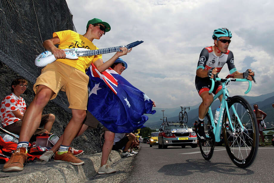 Markel Irizar Aranburu of Spain and Team Radioshack Leopard climbs during stage seventeen of the 2013 Tour de France, a 32KM Individual Time Trial from Embrun to Chorges, on July 17, 2013 in Chorges, France. Photo: Agence Zoom, Getty Images / 2013 Agence Zoom
