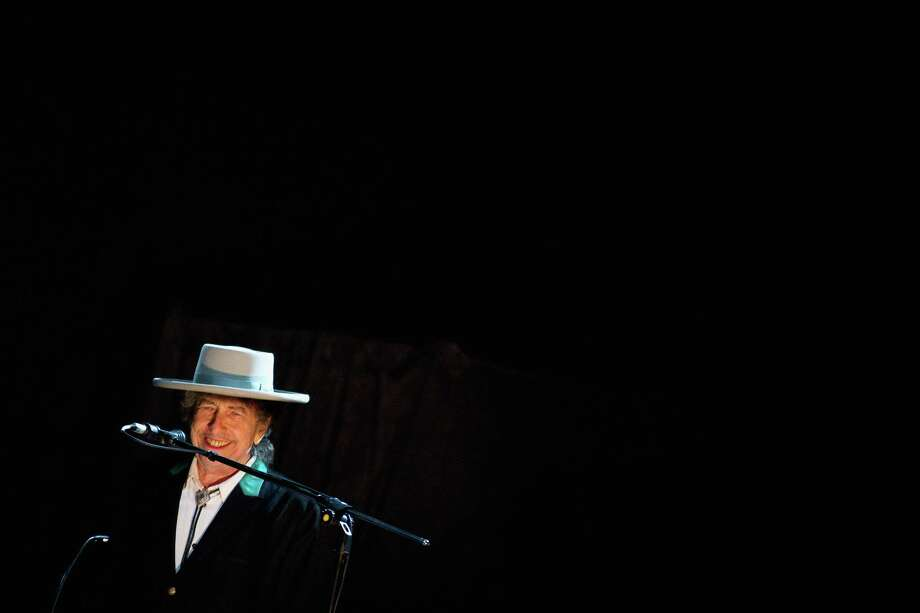 Bob Dylan performs on stage during his concert at the Shanghai Grand Stage on April 8, 2011 in Shanghai, China. Photo: ChinaFotoPress, ChinaFotoPress/Getty Images / 2011 ChinaFotoPress ChinaFotoPress/Getty Images