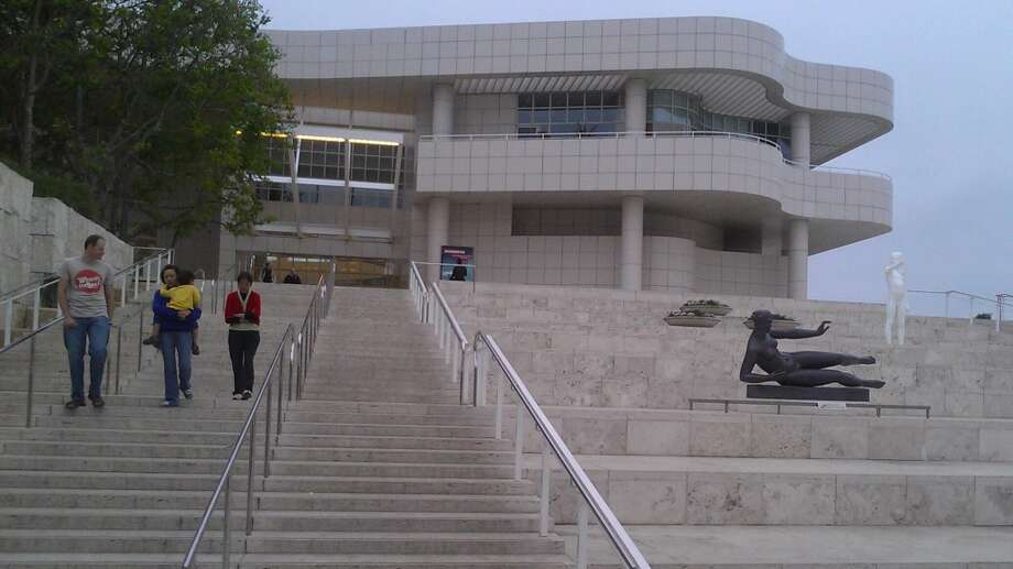 Say this for Richard Meier's Getty Center: It is nothing if not poised.