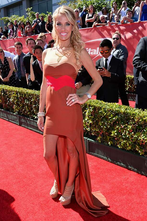 TV personality Emily Dees Boulden attends The 2013 ESPY Awards. Photo: Alberto E. Rodriguez, Getty Images For ESPY