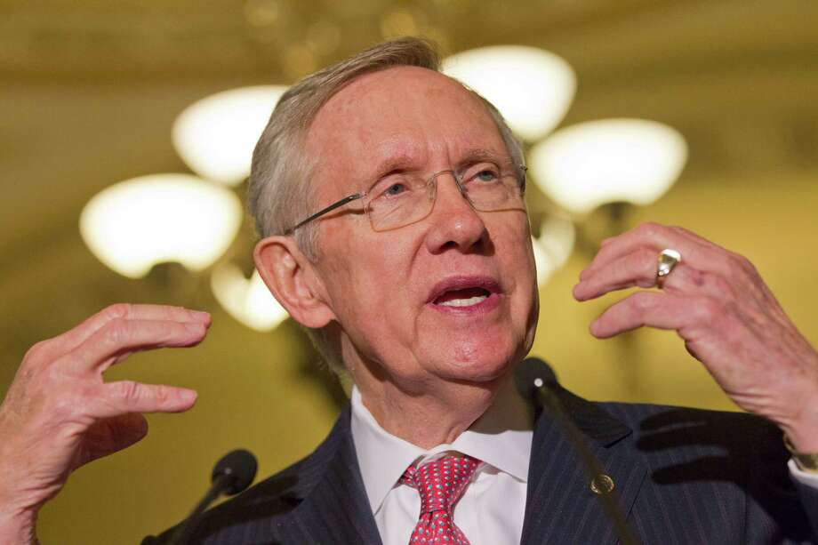 Senate Majority Leader Harry Reid and the Republican leadership cooked up a raw deal on filibusters. Photo: Jacquelyn Martin, Associated Press / AP