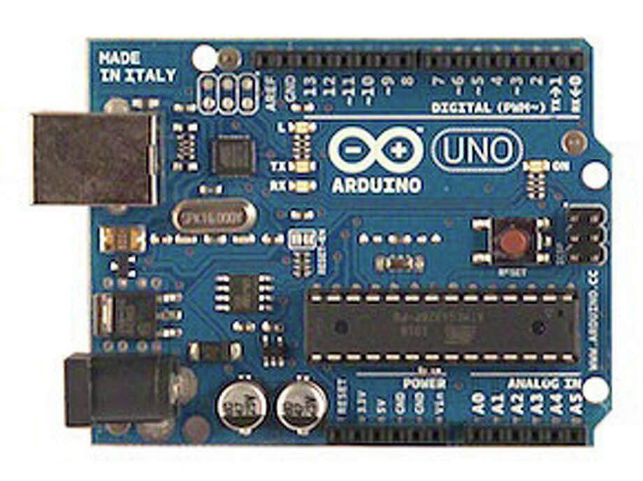 An Arduino board -- learn what it can do at a July 31 workshop at the Westport Library. Photo: Contributed Photo / Westport News contributed