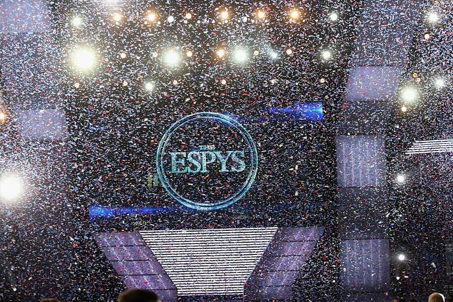 A view of the end of The 2013 ESPY Awards at Nokia Theatre. Photo: Frederick M. Brown, Getty Images For ESPY