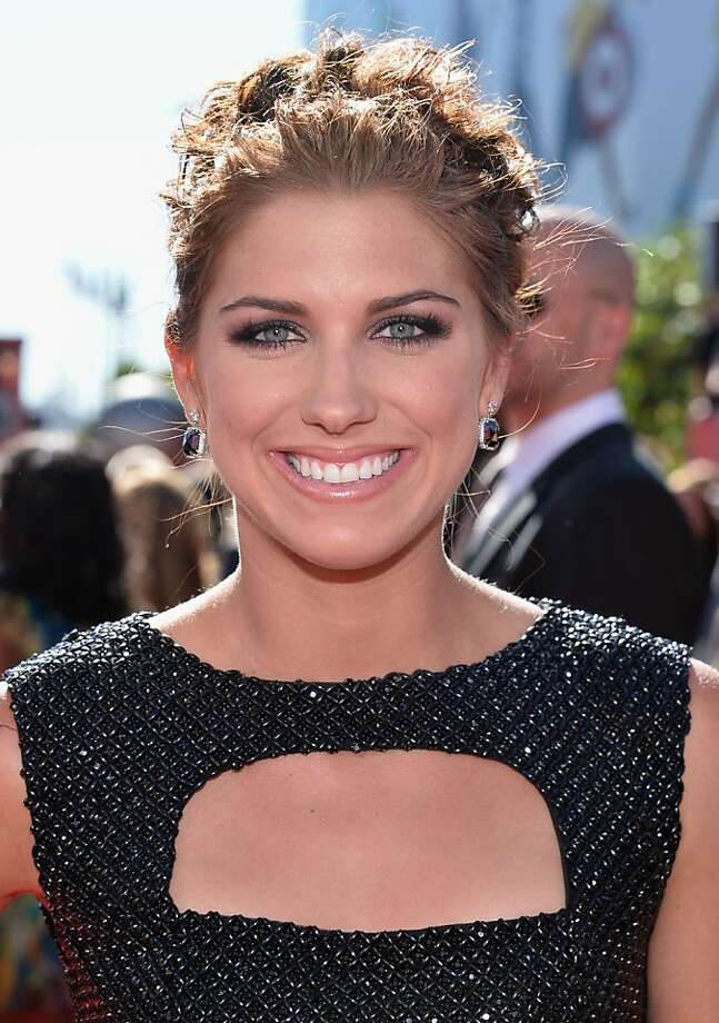 Soccer player Alex Morgan attends The 2013 ESPY Awards at Nokia Theatre L.A. Live. Photo: Alberto E. Rodriguez, Getty Images For ESPY