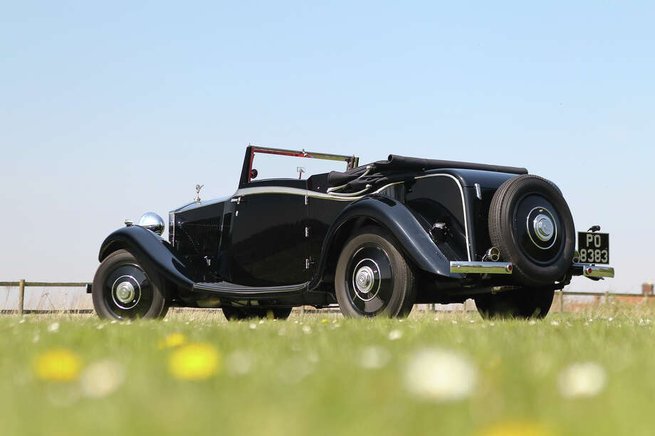 1933 Rolls Royce Drop Head Coupe Photo: Mathieu Heurtault, All Images Copyright And Courtesy Of Gooding & Company.