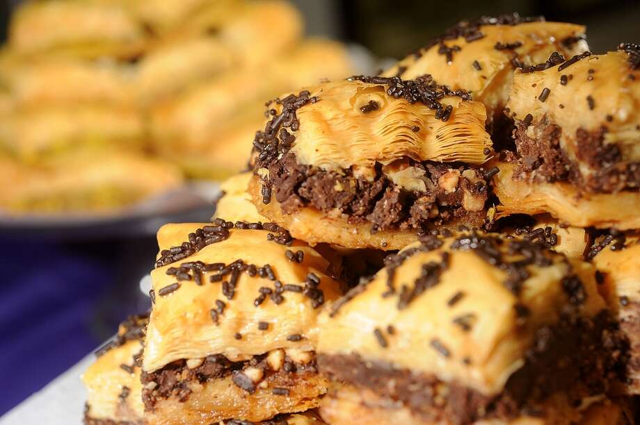 Chocolate baklava at Abbie's Import's in Beaumont 5335 Fannett Road Photo taken Wednesday, July 8, 2012 Guiseppe Barranco/The Enterprise