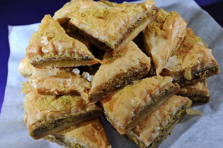 Walnut baklava at Abbie's Import's in Beaumont 5335 Fannett Road Photo taken Wednesday, July 8, 2012 Guiseppe Barranco/The Enterprise