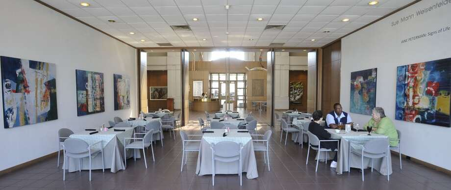 The Two Magnolias Cafe is located inside the Art Museum of Southeast Texas on Main Street in Beaumont. The main dining area has a entrance that opens into the museum.  This is the restaurant of the week for the 10/04/12 edition of Cat 5. Dave Ryan/The Enterprise