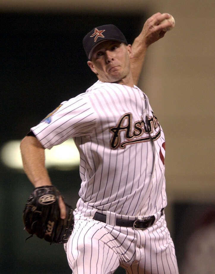 13 — Billy Wagner: Wagner is the Astros' career leader in saves with 225. He was a three-time All-Star with the Astros and finished fourth in the Cy Young voting in 1999, when he had 39 saves and a 1.57 ERA. He was on six Astros playoff teams. Photo: Karen Warren, HOUSTON CHRONICLE / HOUSTON CHRONICLE