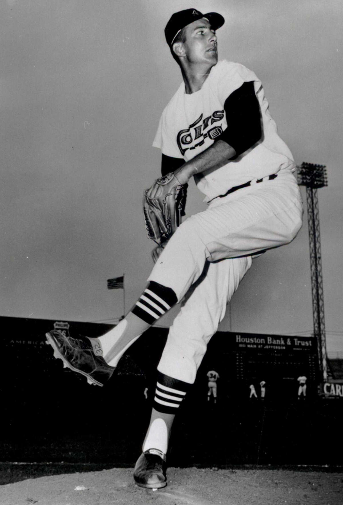 Jim Umbricht was 8-3 in two seasons on the hill for the Astros. He is most well known for his battle against cancer. He underwent surgery to have a tumor removed in March 1963 but came back the next season and went 4-3 with a 2.61 ERA.
