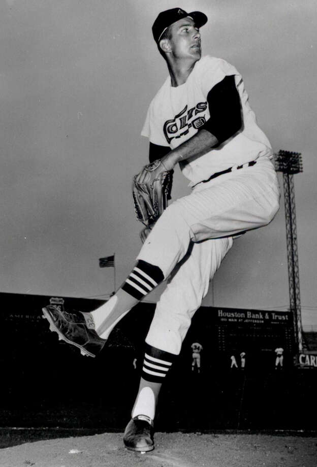 32 — Jim Umbricht: Umbricht was 8-3 in two seasons on the hill for the Astros. He is most well known for his battle against cancer. He underwent surgery to have a tumor removed in March 1963 but came back the next season and went 4-3 with a 2.61 ERA. He died the day before the 1964 campaign, and his jersey was immediately retired.