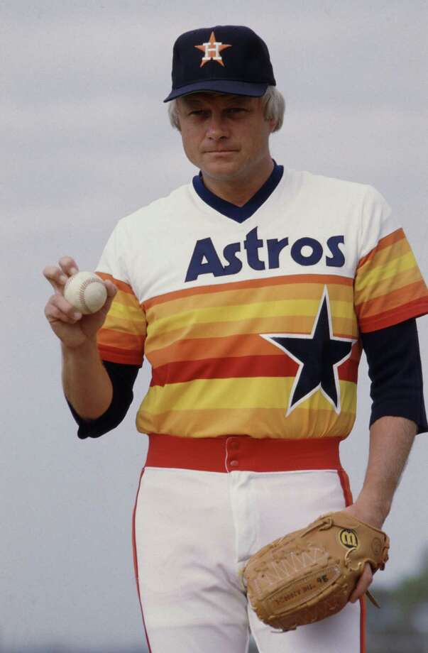 36 — Joe Niekro: The knuckleball pitcher is the winningest pitcher in Astros history with 144 wins. He played 11 of his 22 seasons in Houston and had a career-best and NL-best 21 wins in 1979, when he was second in the Cy Young voting. Photo: Micheal Boddy, Houston Chronicle Files / Houston Post Files