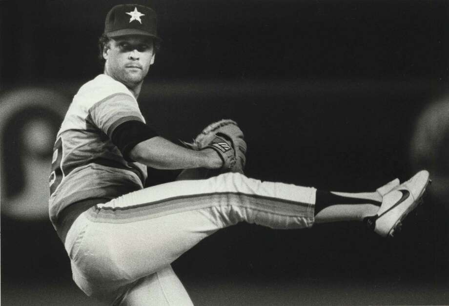 39 — Bob Knepper: The hurler went 93-100 in nine seasons with the Astros. He was a two-time All-Star and finished with a career-best 17 wins in 1978 and 1986. He had an NL-best six shutouts in 1978. Photo: Timothy Bullard, HOUSTON CHRONICLE / HOUSTON CHRONICLE
