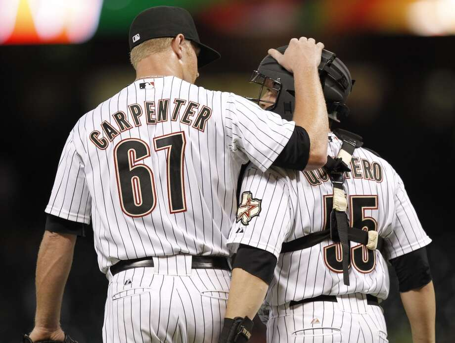 David Carpenter showed up in 64 relief appearances for the Astros from 2011-2012.